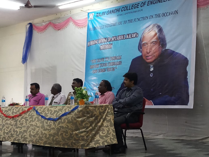 The  Bharat  Rathna  Dr. APJ. Abdul Kalam's Birthday, on 15 Oct 2018