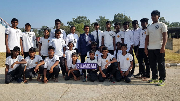 National Silambam Meet at Jammu & Kashmir