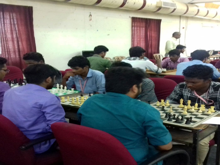 Anna University Zone-II Chess Tournament (Men & Women), on 14 Oct 2018