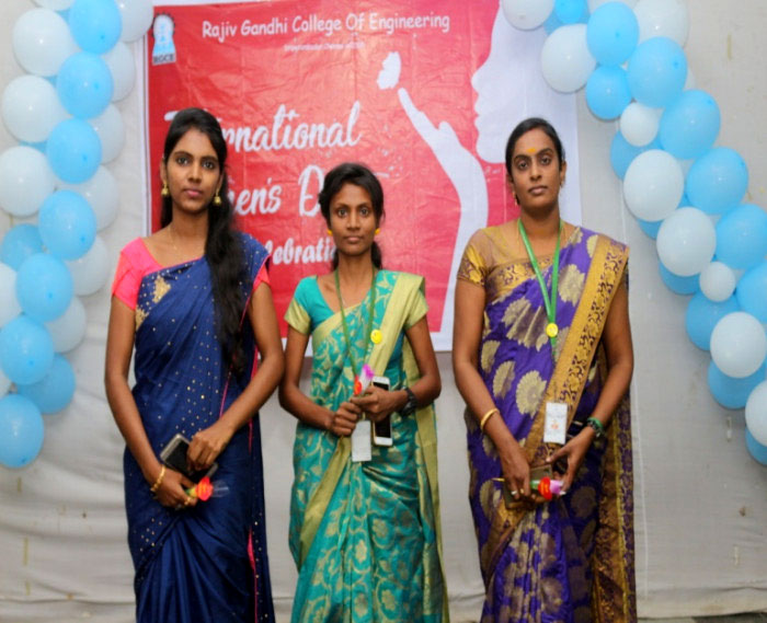 International Women's Day was celebrated on 11 Mar 2019 and Mrs.Annamma John, Treasurer GRES-RGCE chaired the occasion and distributed prizes.