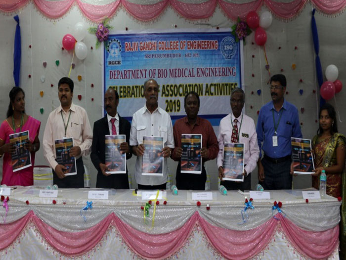 BME Association – Guest Lecture and Magazine Release Function, on 15 Mar 2019