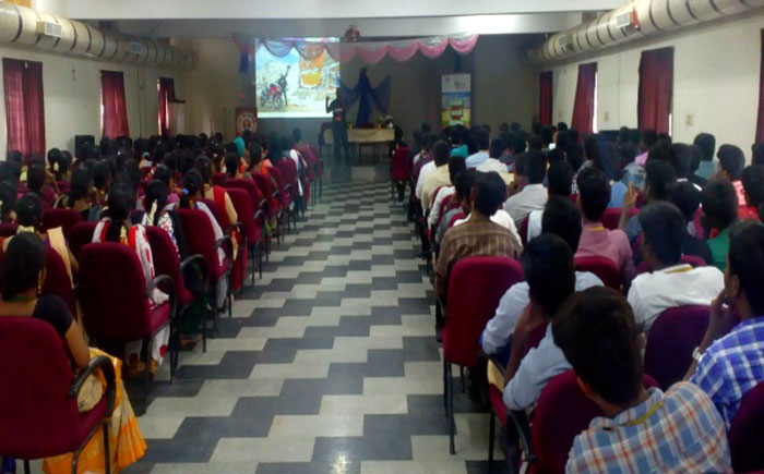 Seminar on 'Self Motivation and Safe Training' from Aharam Services And XBHP Team