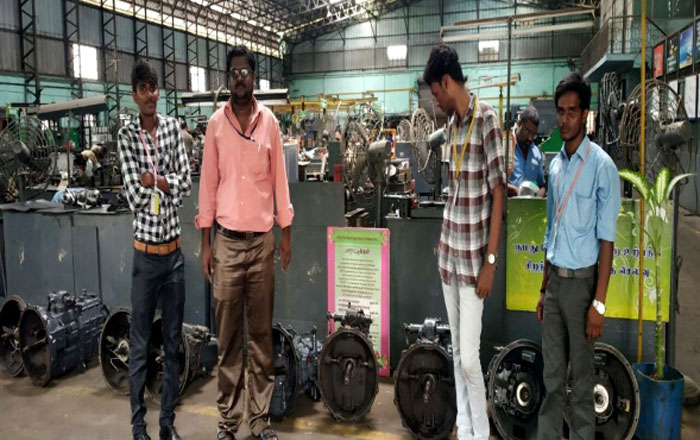 MTC Vehicle Reconditioning Centre organized by Dept of Automobile on 10 Aug 2018