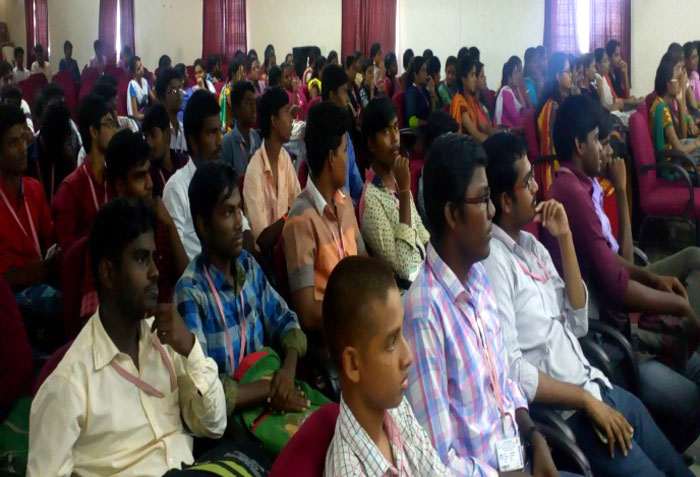 Seminar on 'Awareness on Road Safety and Signs' by Vishnu Motors