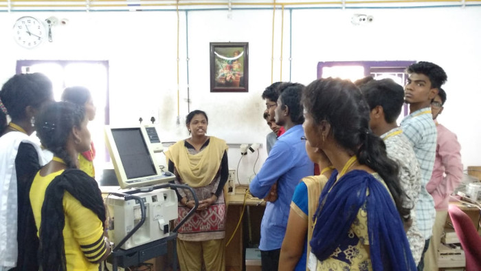 Industrial Visit to Bio-Vision organized by Dept of BME, on 06 Aug 2018