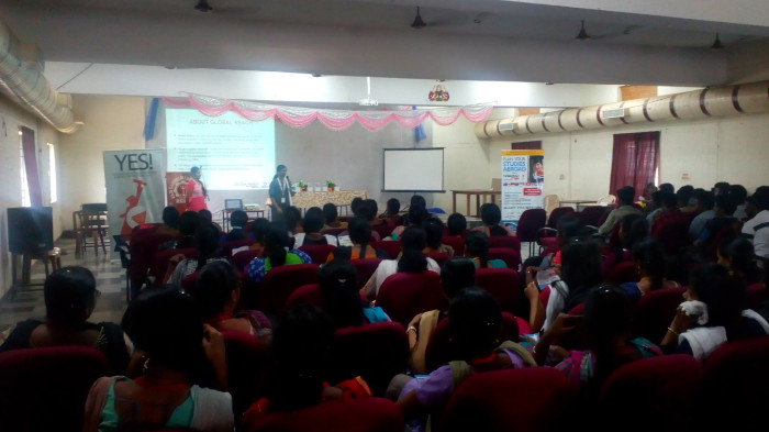 Seminar on 'Higher Education Abroad' by Global Reach, Adyar, on 06 Sep 2018