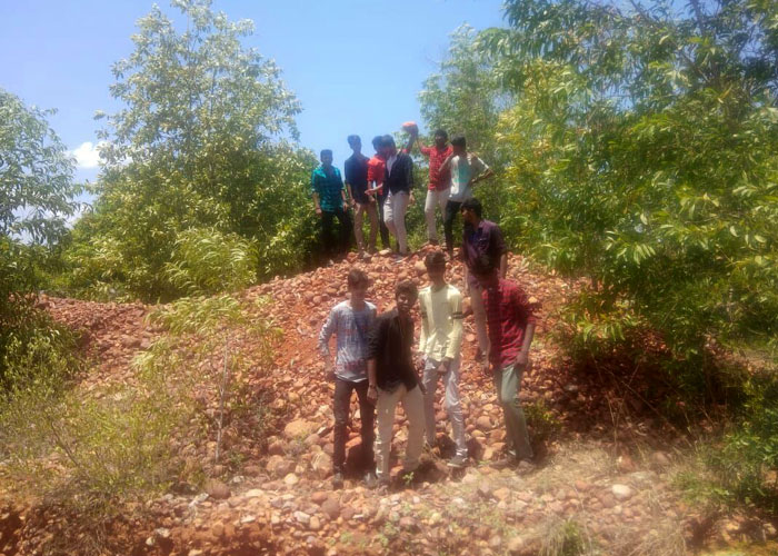 "Field Visit to ""Geologist Site Golden Bed"" at Sathyavedu, AP, on 12 Jul 2019"