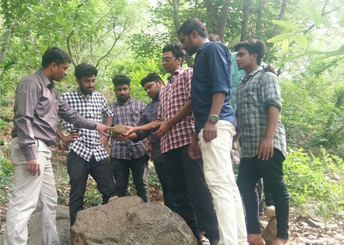 "Field Visit to ""Geology Section"" at Vellore, on 19 Jul 2019"