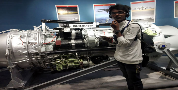 "Industrial Visit to ""Automobile Museum""  at Visakhapatnam on 14 Aug 2019"