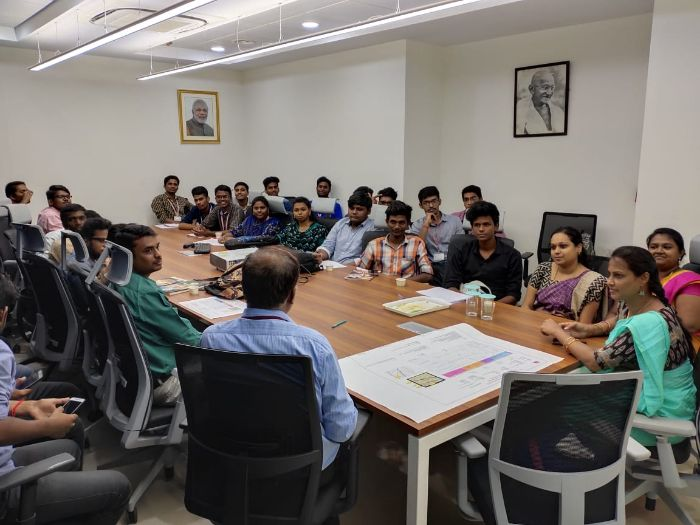 "Technical Sessions at ""Regional Geological Lab"" ONGC Chennai, on 20 Aug 2019"