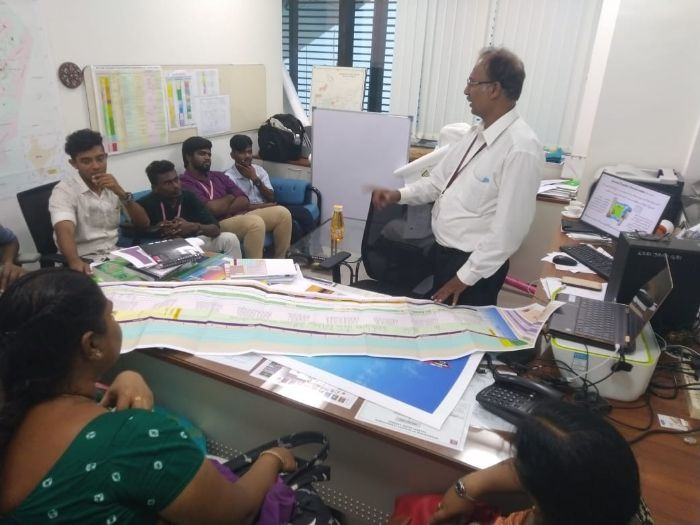 "Field Visit to ""Regional Geological Lab"" ONGC Chennai, on 21 & 22 Aug 2019"